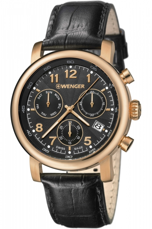 Mens Wenger Urban Classic Chrono Chronograph Watch 11043107