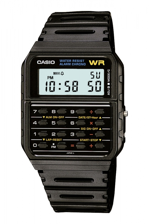 Unisex Casio Core Collection Calculator Alarm Chronograph Watch CA-53W-1ER