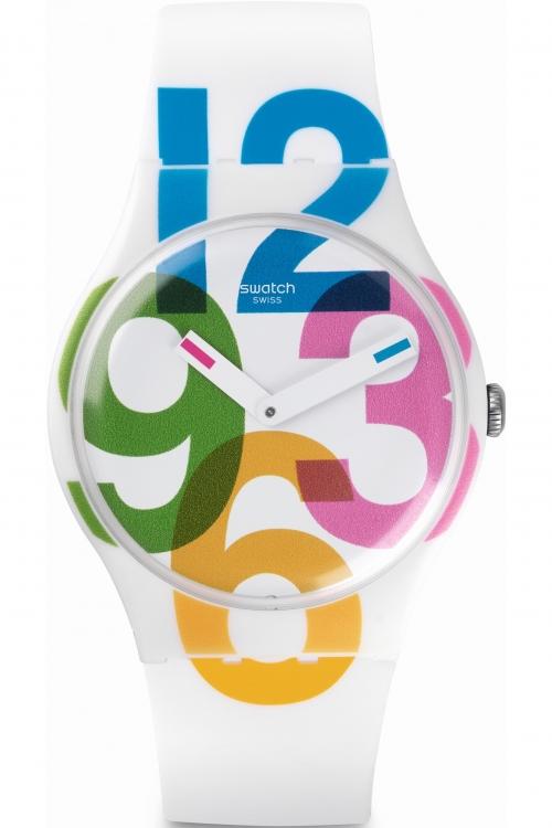 Unisex Swatch Clockwise SUOW117