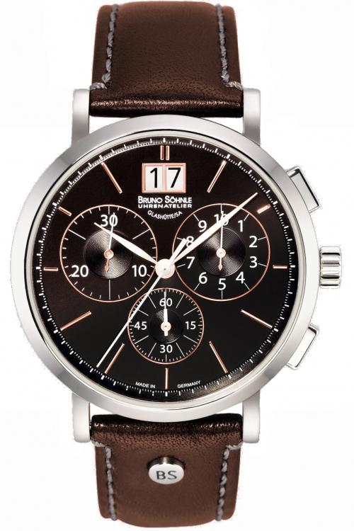 Mens Bruno Sohnle Lagograph Chronograph Watch 17-13112-745