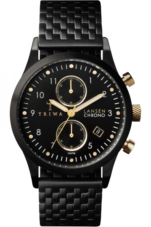 Mens Triwa Lansen Chronograph Watch LCST108BR020101