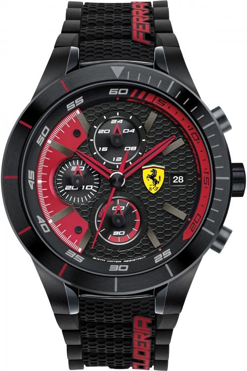 Mens Scuderia Ferrari RedRev Evo Chronograph Watch 830260