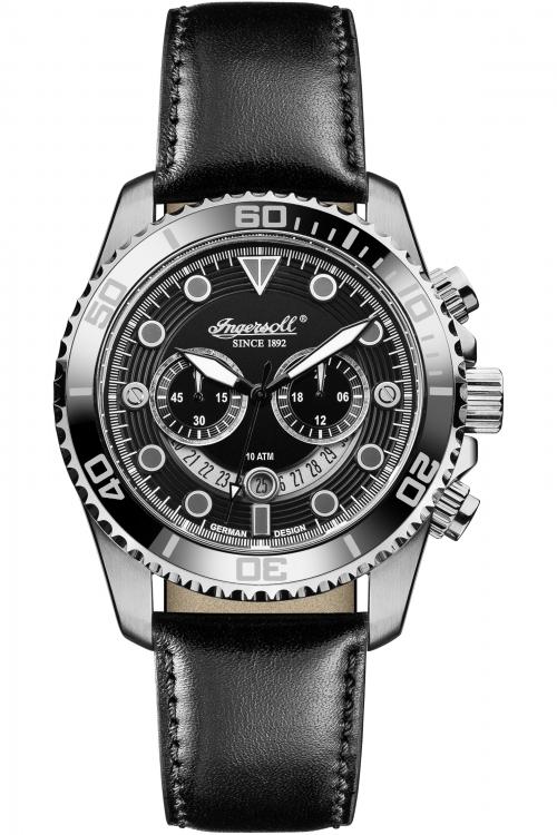 Mens Ingersoll Chronograph Watch INQ032BKBK