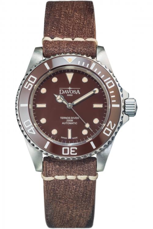 Mens Davosa Ternos Diver Vintage Automatic Watch 16155585