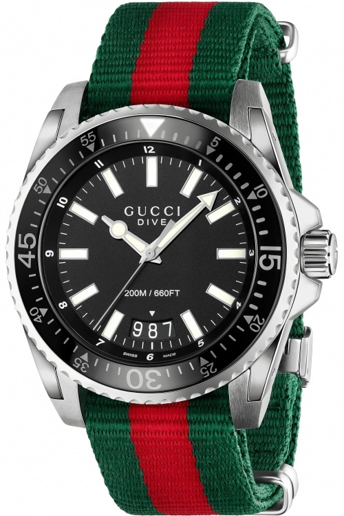 Mens Gucci Dive Watch YA136206