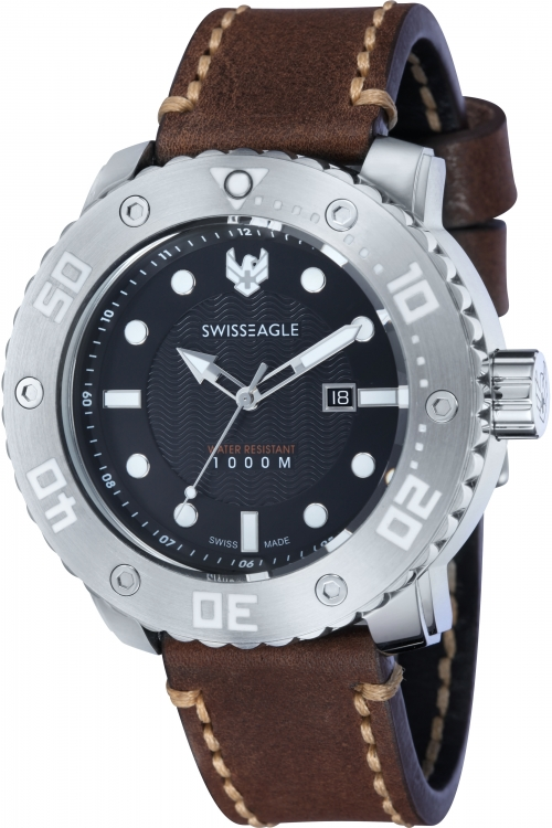 Mens Swiss Eagle Abyss Watch SE-9073-01