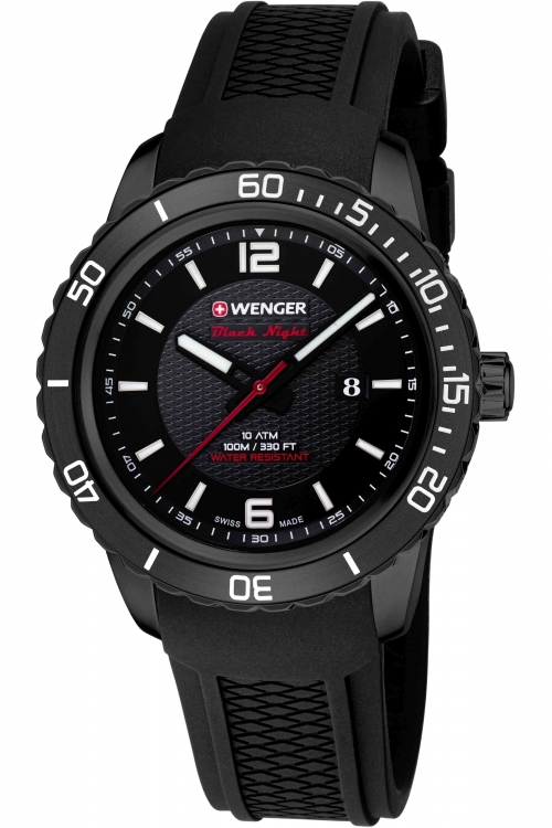 Mens Wenger Roadster black night Watch 10851124