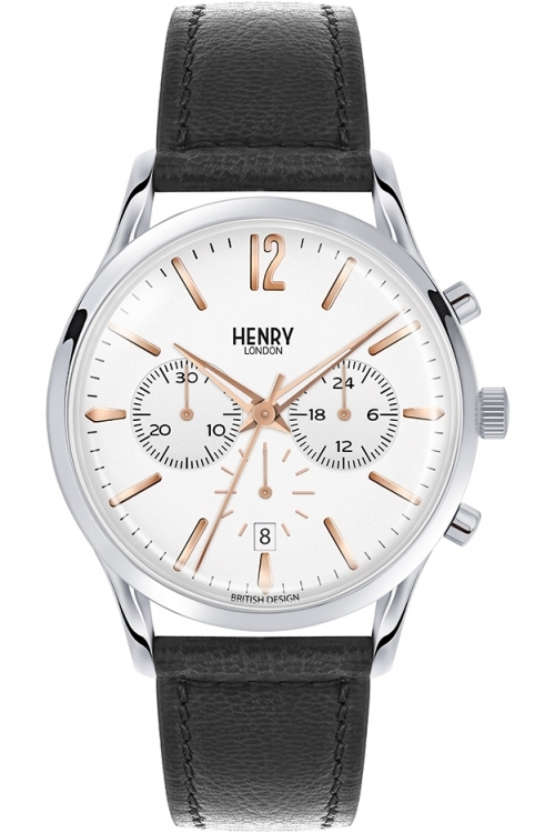 Mens Henry London Highgate Chronograph Watch HL41-CS-0011