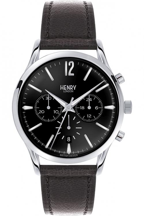 Mens Henry London Edgware Chronograph Watch HL41-CS-0023