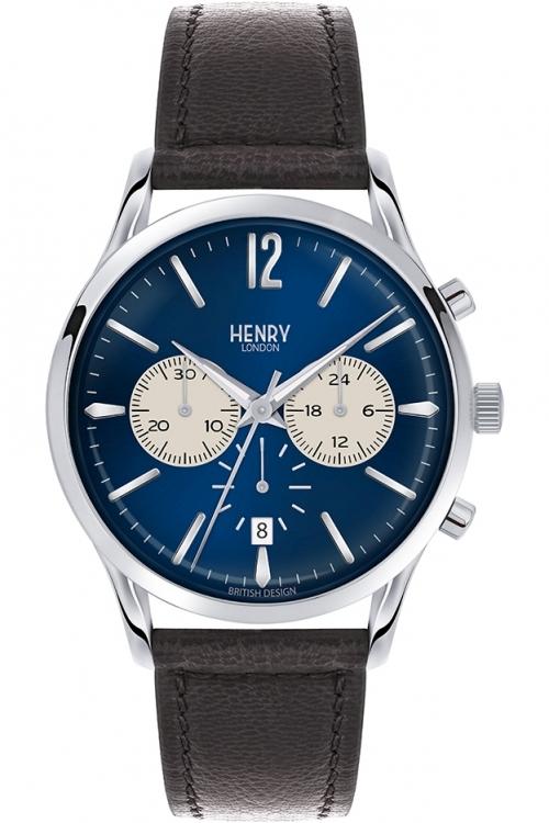 Mens Henry London Knightsbridge Chronograph Watch HL41-CS-0039