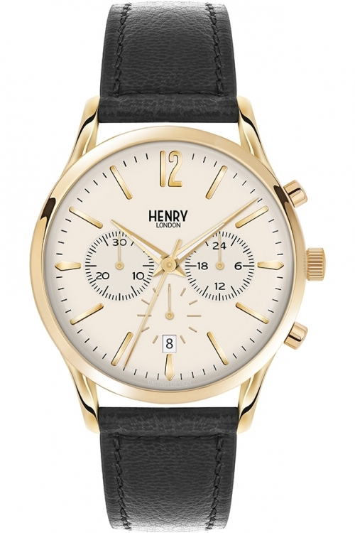 Mens Henry London Westminster Chronograph Watch HL41-CS-0018