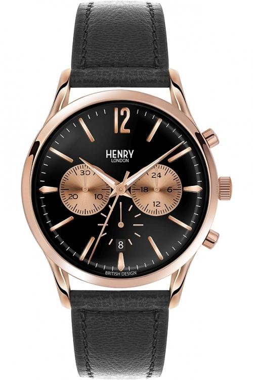 Mens Henry London Richmond Chronograph Watch HL41-CS-0042