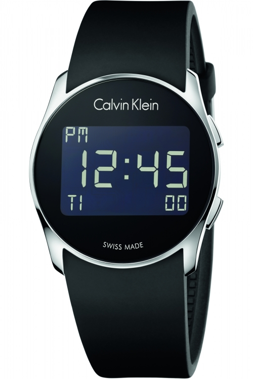 Mens Calvin Klein Future Alarm Watch K5B23TD1