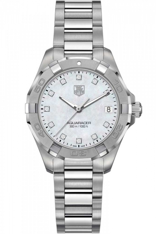 Ladies TAG Heuer Aquaracer Diamond Watch