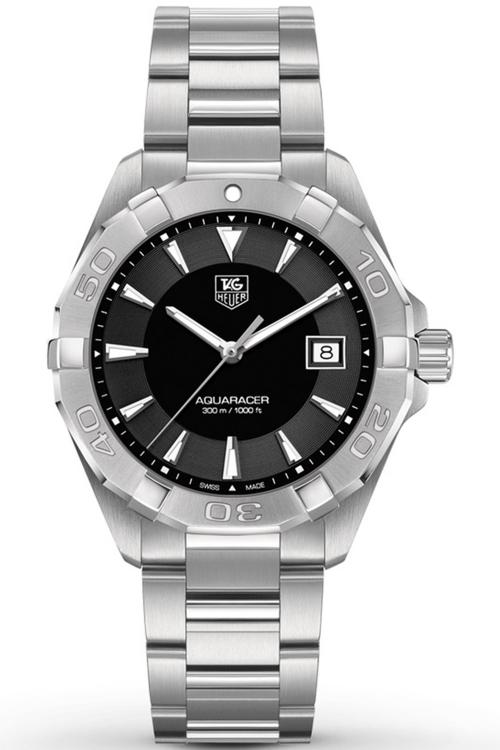 Mens TAG Heuer Aquaracer Grande Date Alarm Watch WAY1110.BA0910