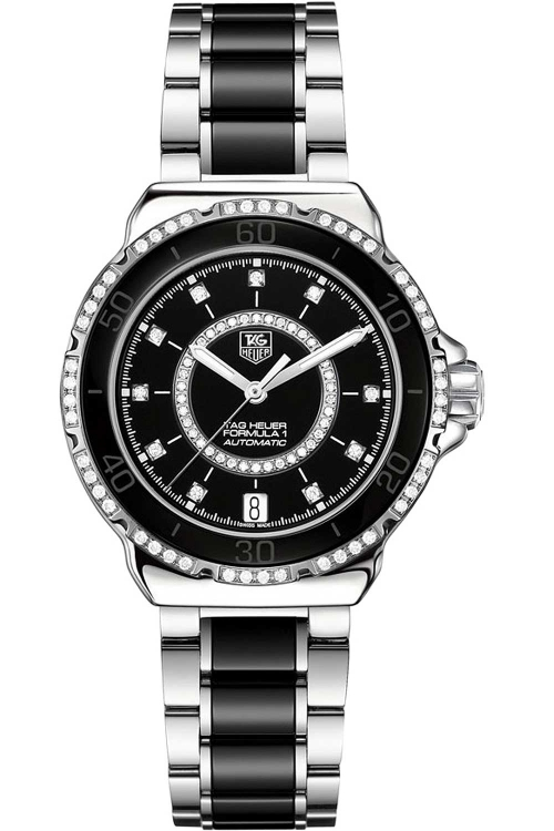 Ladies TAG Heuer Formula 1 Ceramic Diamond Watch