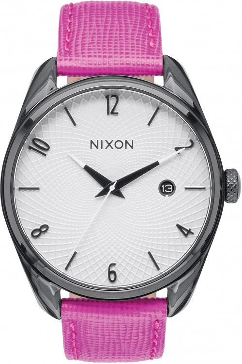 Ladies Nixon Bullet Leather Watch