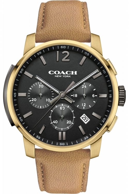 Mens Coach Bleecker Chronograph Watch 14602016