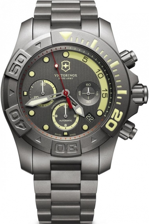 Mens Victorinox Swiss Army Divemaster 500 Limited Edition Automatic Chronograph Watch 241660