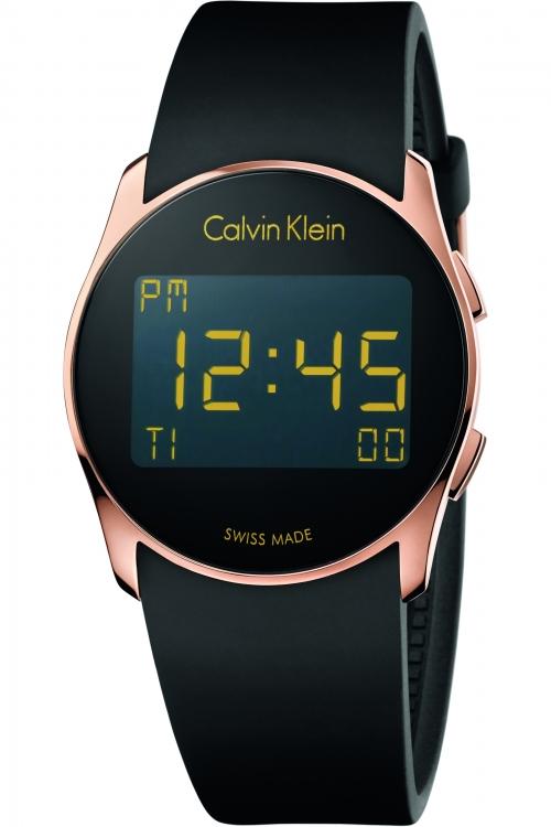 Mens Calvin Klein future Alarm Chronograph Watch K5B236D1