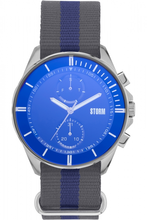 Mens Storm Rexford Chronograph Watch REXFORD-LAZER-BLUE