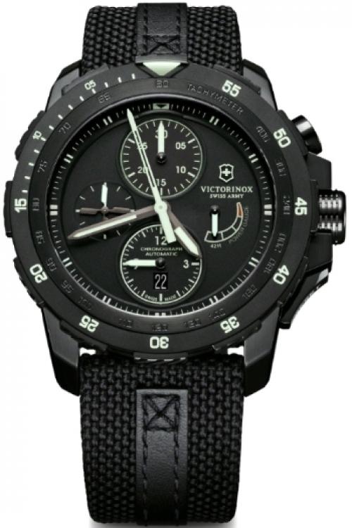 Mens Victorinox Swiss Army Automatic Chronograph Watch 241574