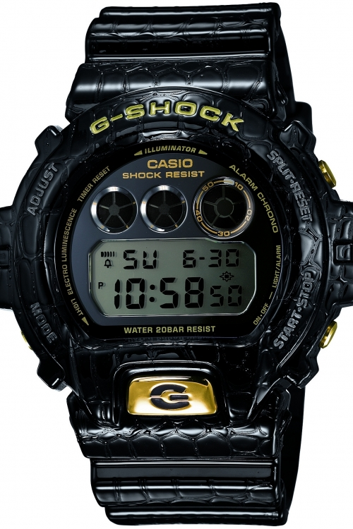 Mens Casio G-Shock Crocodile Series Limited Edition Alarm Chronograph Watch DW-6900CR-1ER