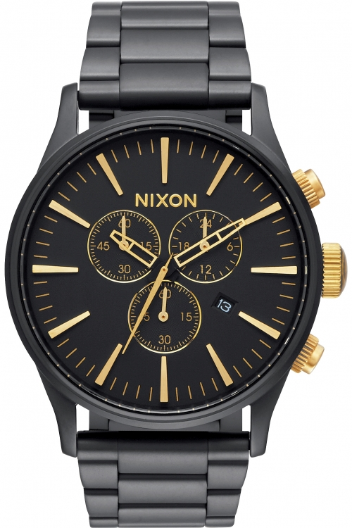 Mens Nixon The Sentry SS Chronograph Watch A386-1041