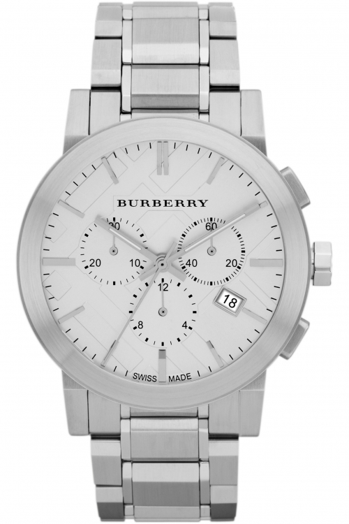 Mens Burberry The City Chronograph Watch BU9350