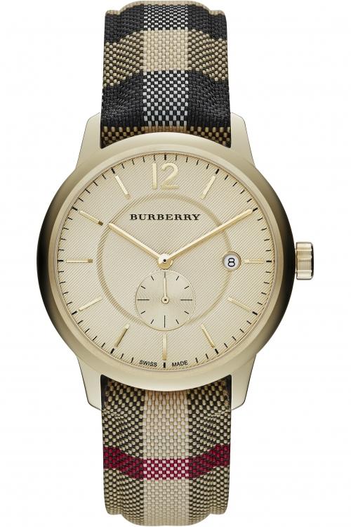 Mens Burberry The Classic Horseferry Check Watch BU10001