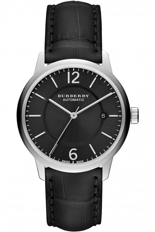 Mens Burberry The Classic Round Automatic Watch BU10300