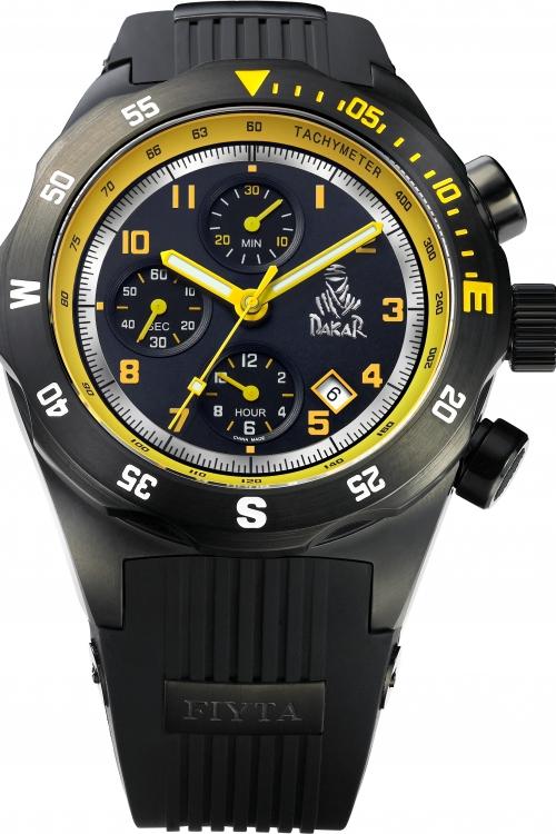 Mens Fiyta Extreme Dakar Rally Limited Edition Automatic Chronograph Watch GA8188.BBB