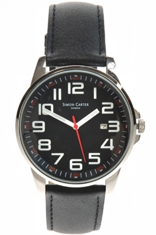 Mens Simon Carter Watch WT1600BK