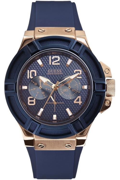 Mens Guess Rigor Chronograph Watch W0247G3_1