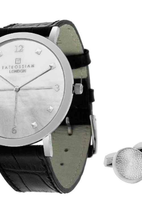 Mens Tateossian Cufflink Gift Set Watch SM0197