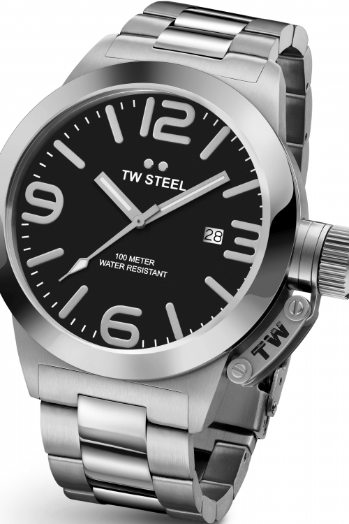 Mens TW Steel Canteen 45mm Watch CB0001