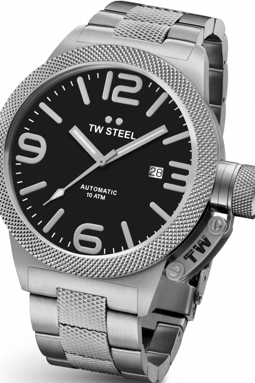 Mens TW Steel Canteen Automatic 45mm Watch CB0005