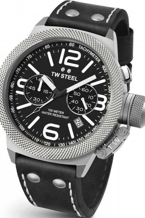 Mens TW Steel Canteen Chronograph 50mm Watch CS0004