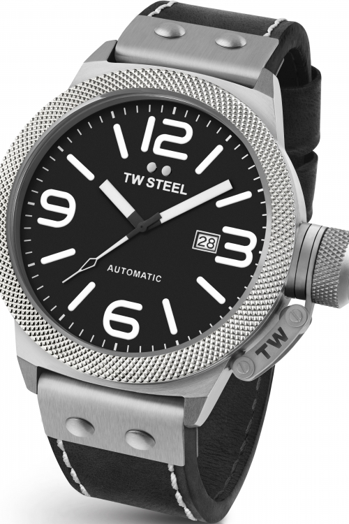 Mens TW Steel Canteen Automatic 50mm Watch CS0006