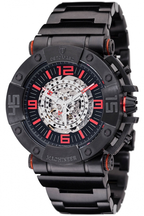 Mens Detomaso Marks a Man - Machineer Automatic Watch DT-ML102-A