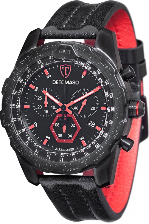 Mens Detomaso Marks a Man - Airbreaker Chronograph Watch DT-YG101-A
