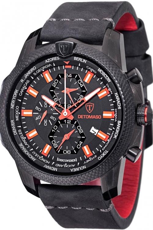 Mens Detomaso Marks a Man - Discoverer Watch DT-YG102-A