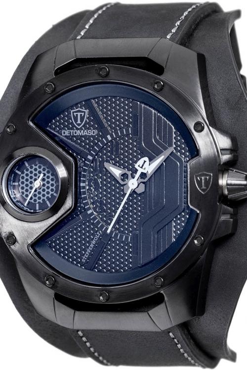 Mens Detomaso Marks a Man - Steppenwolf Black Edition Watch DT-YG104-C
