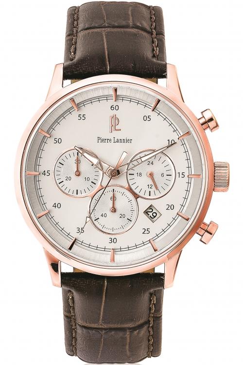 Mens Pierre Lannier Chronograph Watch 225D404