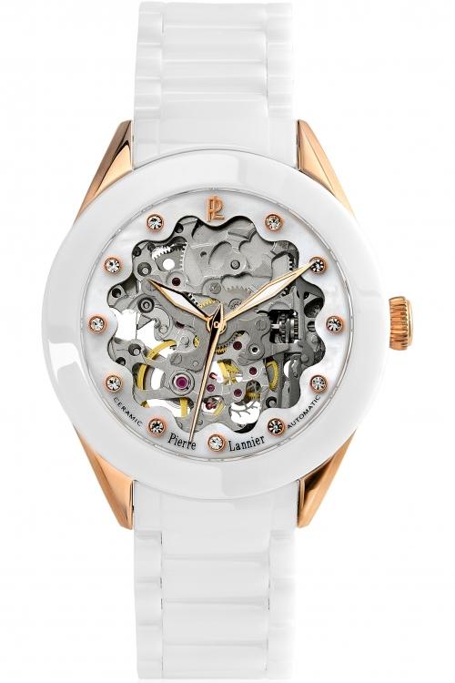 Ladies Pierre Lannier Ceramic Automatic Watch