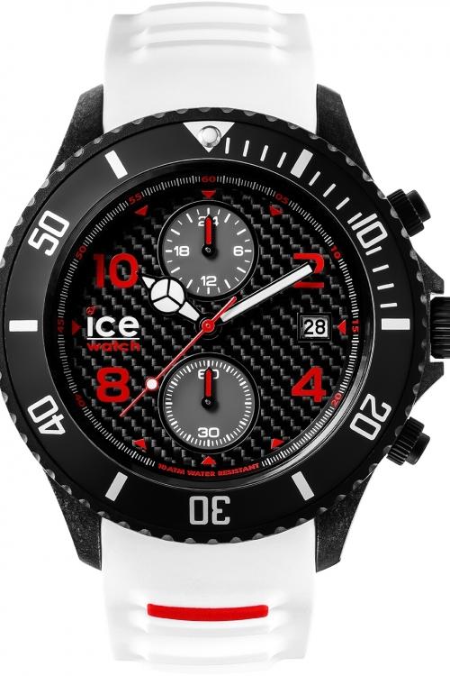 Gents Ice-Watch Ice-Carbon Big Big Chronograph Watch CA.CH.WE.BB.S.15