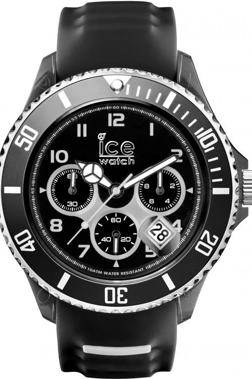 Gents Ice-Watch Ice-Sporty Big Big Chronograph Watch SR.CH.BKW.BB.S.15