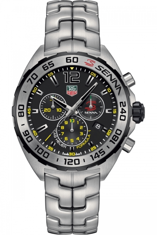 Mens TAG Heuer Formula 1 Senna Special Edition Chronograph Watch CAZ1013.BA0883