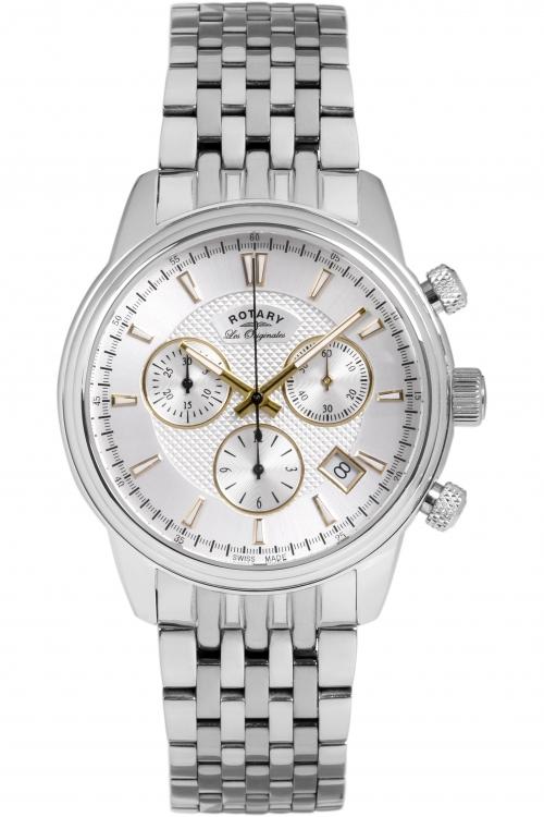 Mens Rotary Les Originales Monaco Chronograph Watch GB90125/02