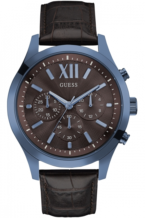 Mens Guess Elevation Chronograph Watch W0789G2